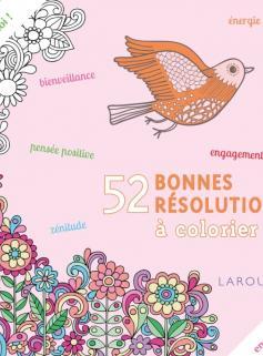 52 bonnes résolutions à colorier