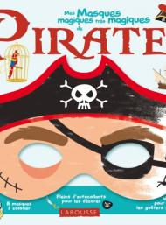 Mes masques magiques de pirates