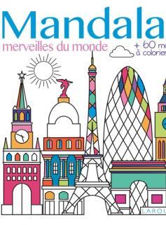 Mandalas Merveilles du monde