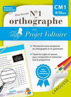Pour devenir n°1 en orthographe avec Projet Voltaire CM1