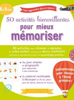 50 activités bienveillantes pour mieux mémoriser