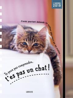 Tu peux pas comprendre t'es pas un chat - agenda