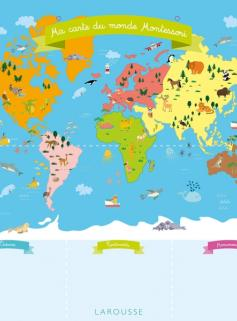 Ma carte d'Europe Montessori