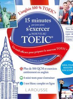 15 minutes par jour pour s'exercer AU TOEIC