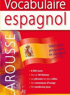Larousse Vocabulaire espagnol