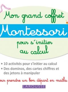Mon grand coffret Montessori d'initiation au calcul