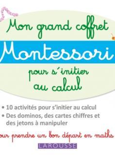 Mon grand coffret Montessori d'initiation au calcul