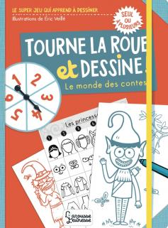 Tourne la roue et dessine, personnages de contes