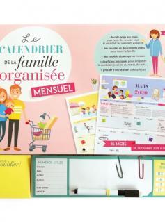 Le calendrier de la famille organisée mensuel 2020