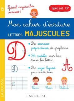 Petit cahier d'écriture spécial Majuscules