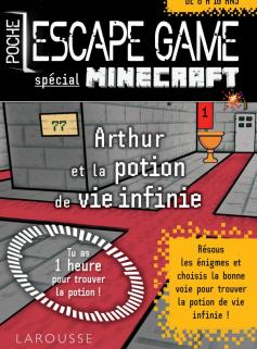 Escape game de poche sp Minecraft - La potion de vie éternelle