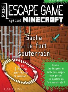 Escape game de poche spécial Minecraft -  enfermé dans le fort souterrain