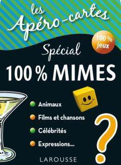 Apéro-cartes 100% mimes et devinettes