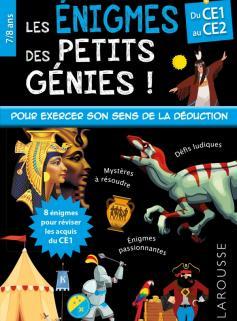 Les énigmes des petits génies CE1-CE2