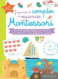 J'apprends à compter en vacances avec Montessori