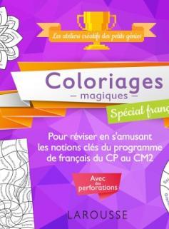 20 coloriages magiques spécial Français, 7-10 ans