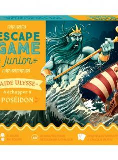 Escape Game Junior - Aide Ulysse à échapper à Poséidon