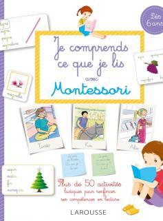 Mon cahier Montessori je comprends ce que je lis
