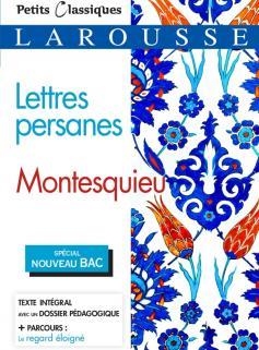 Lettres persanes (Bac 2020)