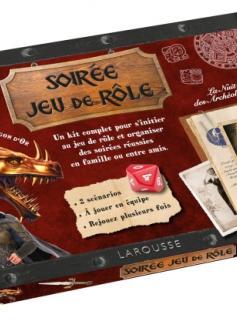 Soirée jeu de rôle - La quête du dragon d'or