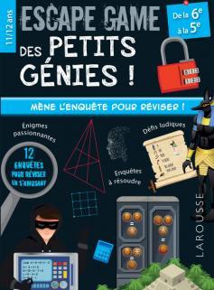 Escape game des petits génies 6e-5e