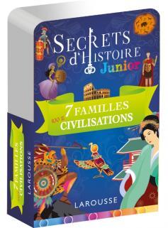 Secrets d'histoire junior - Jeu des 7 familles, Spécial Grandes civilisations