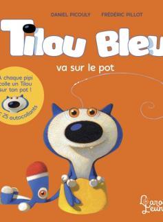 Tilou bleu va sur le pot