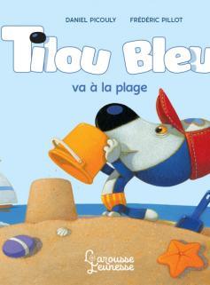 Tilou bleu va à la plage