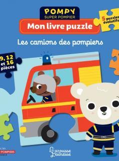 Mon livre puzzle - Les camions des pompiers