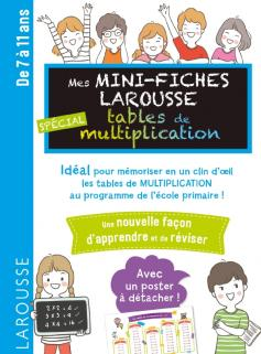 Mini fiches tables de multiplication