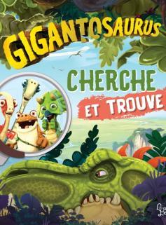 Gigantosaurus Cherche et trouve