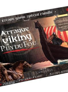ESCAPE GAME - Attaque Viking au Puy du Fou