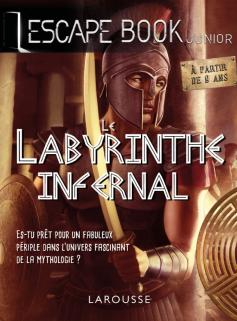 ESCAPE BOOK -Le Labyrinthe infernal