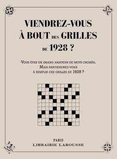 Viendrez-vous à bout des grilles de 1928 ?