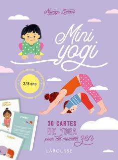 Mini Yogi - 30 cartes de yoga pour des moments zen
