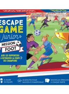 Escape Game Junior - Mission foot - Aide les supporters à retrouver la coupe des champions