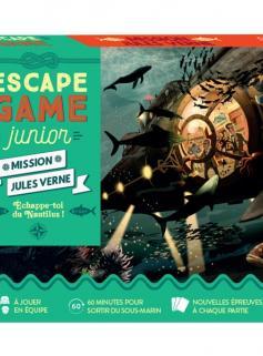Escape Game Junior - Mission Jules Verne - Echappe-toi du Nautilus