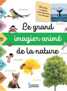 Le grand imagier photos animé de la nature