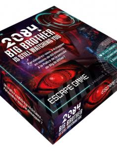 Coffret Escape game 2084 Big Brother is still watching YOU