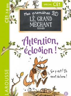 Mes premières BD le Grand Méchant Renard - Attention, éclosion