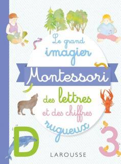 Mon grand imagier Montessori des lettres rugueuses