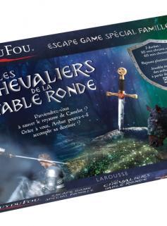 Coffret Escape game famille Puy du FOU - Les Chevaliers de la Table ronde
