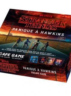 Coffret Escape game STRANGER THINGS - Panique à Hawkins