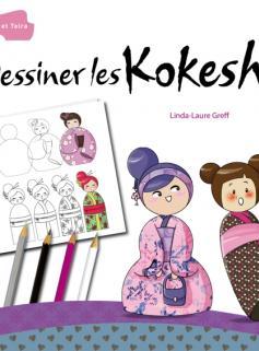 Dessiner les Kokeshis