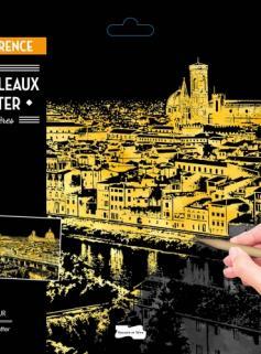 Maxi-tableaux à gratter Paris-Florence