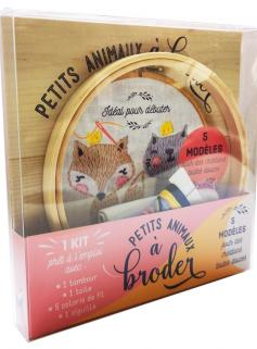 Petits animaux à broder