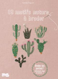 38 motifs nature à broder