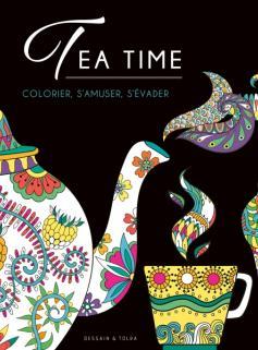 Coloriage Black - Tea time