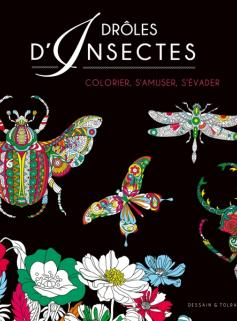 Coloriage Black - Insectes