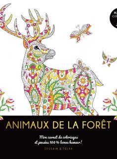 Happy coloriage - Animaux de la forêt